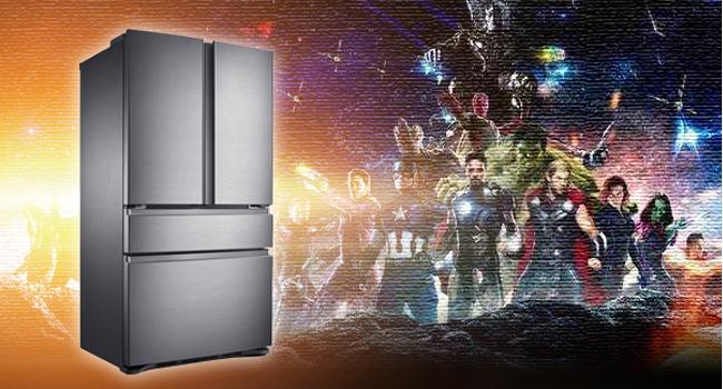 """假设用""""振金""""这种高级货造冰箱将会是啥样?"""