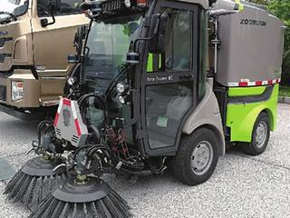 扫地机器人上路!可取代环卫工?