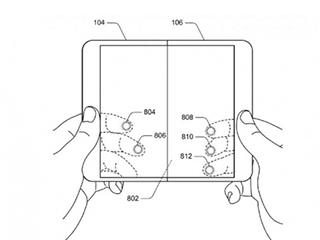 微软再发折叠屏幕手机专利 可折叠到不同角度使用