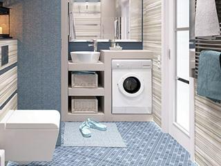 话说你家的洗衣机放哪了?