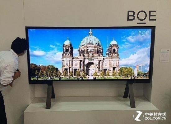 京东方有望在2018年继续领跑大尺寸液晶面板市场