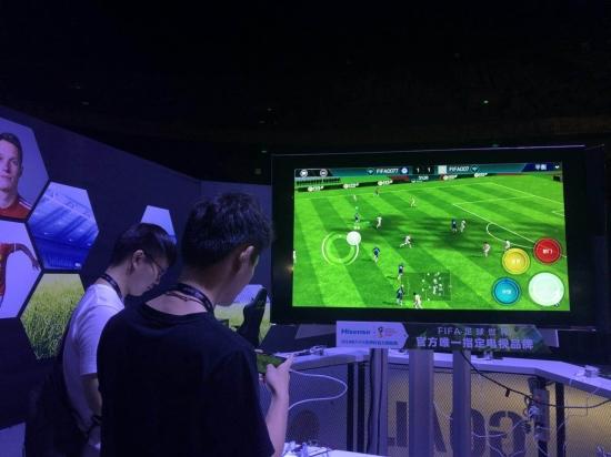 独家适配 海信成FIFA足球世界手游唯一合作电视品牌