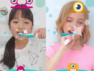 小朋友不愿意刷牙?趣味社交AR牙刷了解下