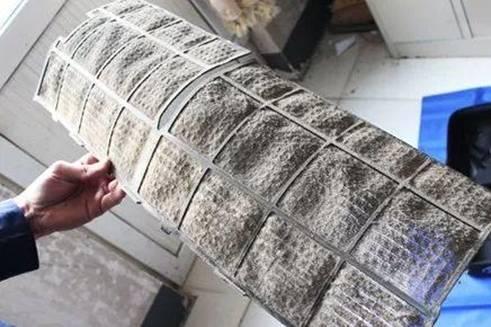 脏空调藏匿上万只螨虫 空调使用前一定要清洗