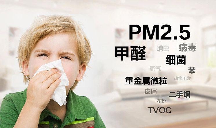 还在担心室内甲醛污染?一台净化器让你安心入住
