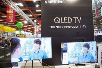 三星预计2018年QLED电视出货量将呈指数级增长