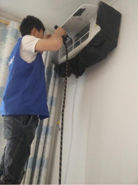 海尔为重庆383个家庭清洗空调获得118台新订单
