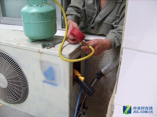 空调不制冷并不必定是缺氟