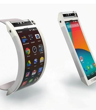 可弯曲能折叠 智能手机要变脸