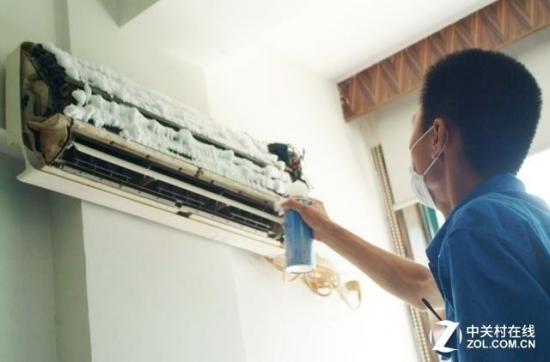 空调清洁简单三步即可搞定