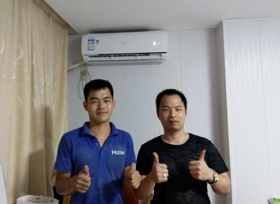 海尔自清洁空调焕新中国行:厦门1次清洗换55台订单