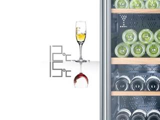 卡萨帝上市博芬双温区酒柜分类储藏葡萄酒