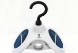 新型实用小家电:会自动旋转的太阳能衣架