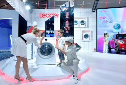 """从洗衣到护衣  Leader维真洗衣机引领""""感应洗""""趋势"""