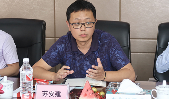 中国五金制品协会副秘书长苏安建