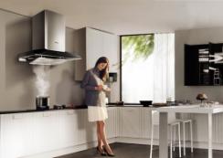 拯救开放式厨房的油烟困扰 靠这两款烟机