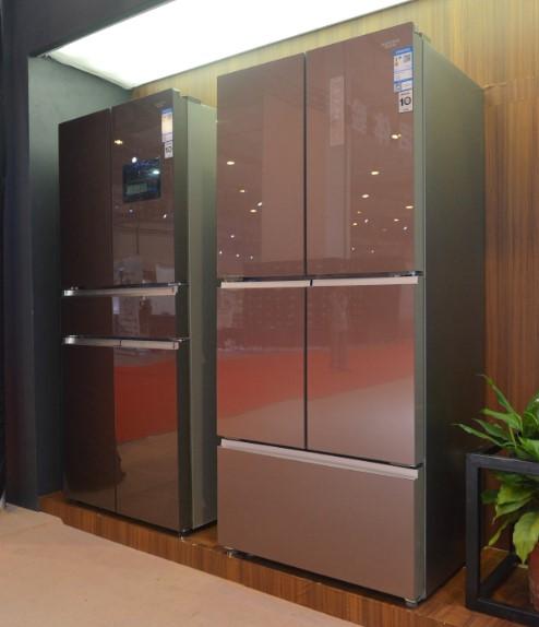 引领生活新风尚,澳柯玛德式智慧冰箱亮相消费电子展