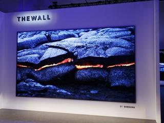 三星宣布将于2019年发布30mm厚、第二代MicroLED电视