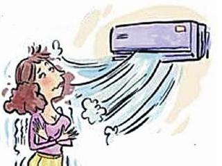 低温吹空调 贪凉打赤膊 专家提示克服避暑误区