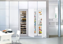 利勃海尔嵌入式冰箱 自定义厨房至高标准