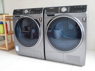 2小时极速洗烘挑战 三星洗衣干衣套机实测