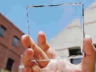把窗户变成太阳能电池板