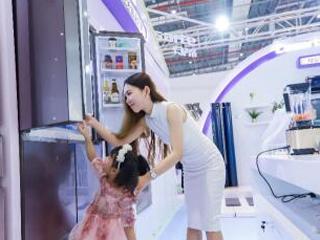 卡萨帝冰箱携母婴专属储鲜方案亮相CBME展