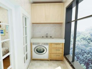 洗衣机不要放在阳台上了,装修达人一般会这样设计!