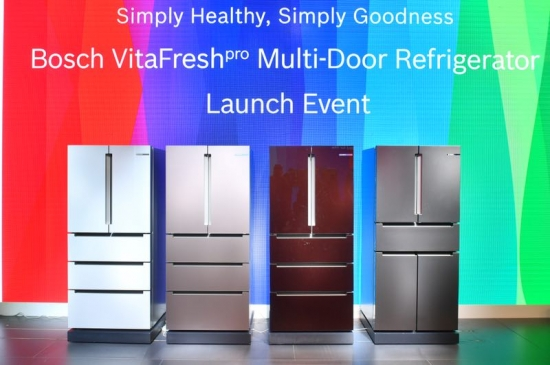 博世维他鲜动力多门冰箱系列新品