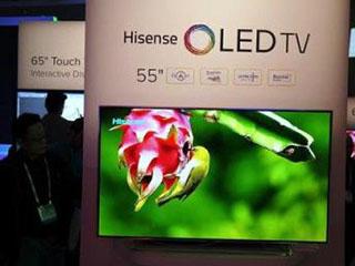 海信加入OLED阵营 彩电显示之争日趋激烈