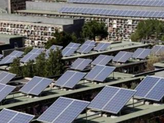 西班牙墓地上太阳能电站,网友表示活久见