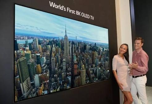 IFA2018再刷记录 LG展示88英寸8K OLED电视