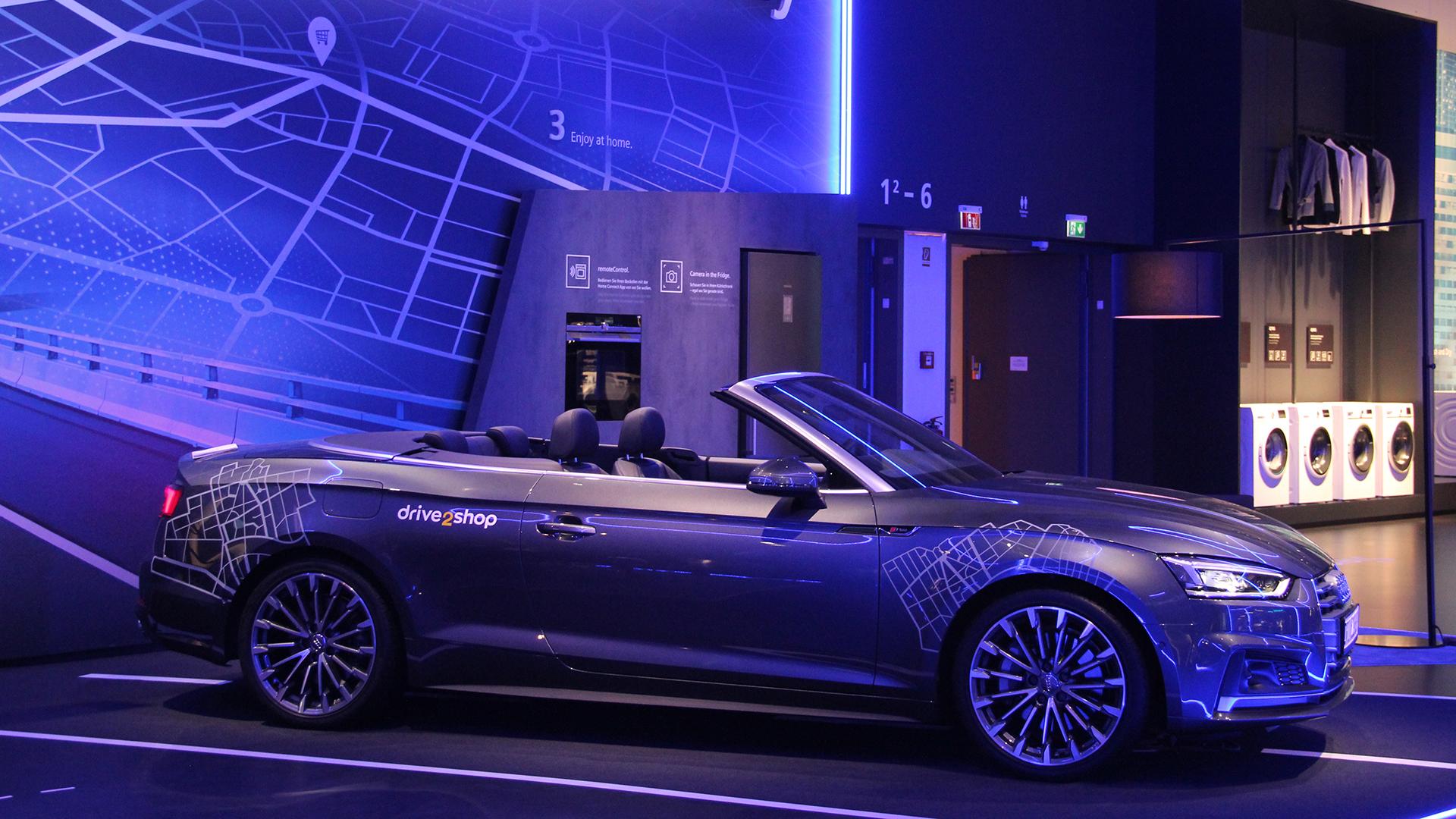 IFA2018现场展示的智能汽车