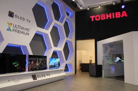 """中国""东芝首次亮相IFA2018 推出OLED电视"