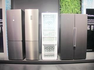 IFA2018?#20309;?#38376;子冰箱展现科技未来
