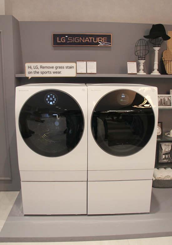 LG SIGNATURE洗衣机