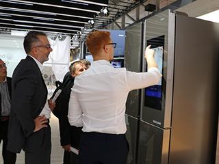 IFA2018海尔馨厨冰箱通过亚马逊AVS认证:将于欧洲首发上市