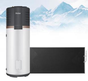 """第4代太阳能热水器:海尔太空能热水器""""一度电,全家洗"""""""
