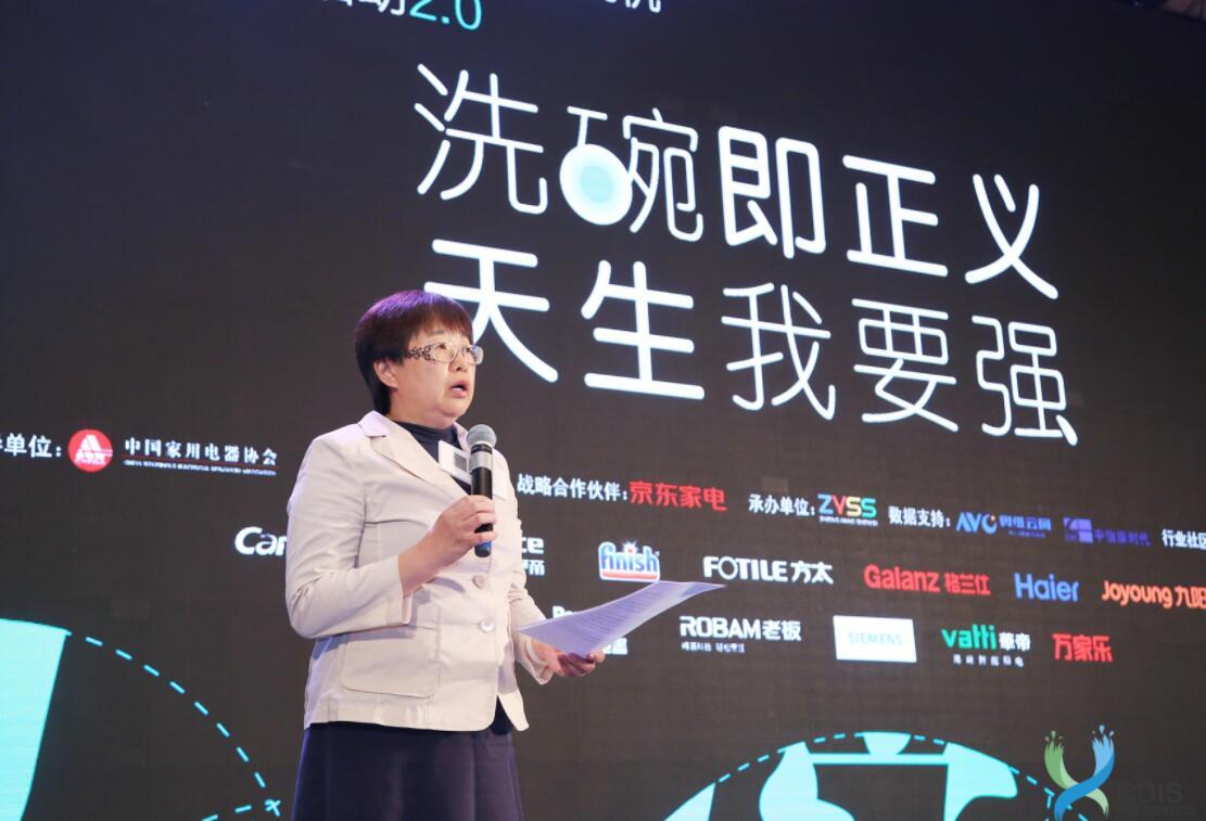 中国家用电器协会副理事长王雷致辞