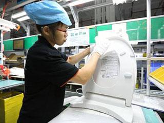 走进海尔卫玺智慧工厂 见证一台智能马桶盖的诞生