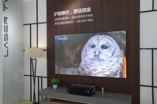 """中国80吋以上高端电视市场 一半""""江山""""都是海信激光"""