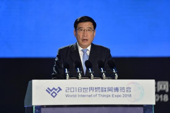 【主峰会】工业和信息化部部长苗圩(陆润卿摄)