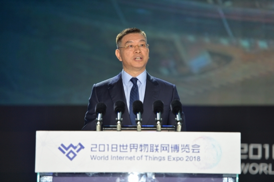 【主峰会】华为技术有限公司董事、战略市场总裁徐文伟(陆润卿摄) (3)