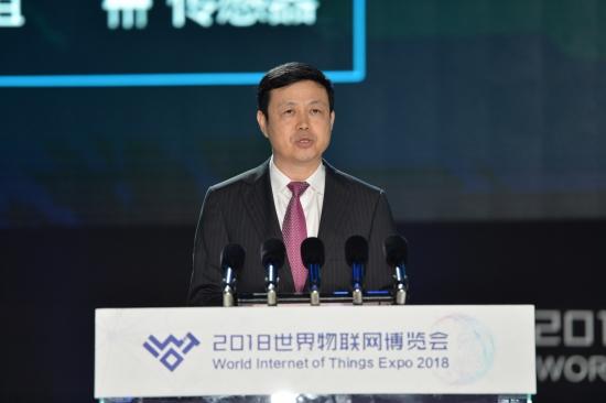 【主峰会】中国电信集团公司董事长、党组书记杨杰(陆润卿摄)