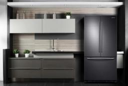 演绎黑色色彩之光 三星冰箱变身经典时尚Icon