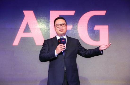 AEG合资公司总经理 章越
