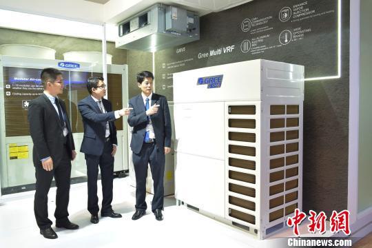 """""""中国造""""空调以创新科技闪耀印尼国际制冷展"""