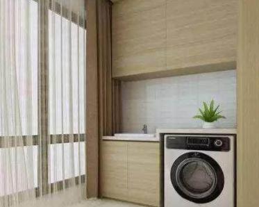 还把洗衣机放阳台?这个方法更好用