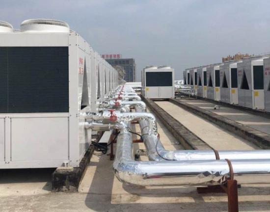 扬子中央空调高效模块机入驻安徽泗县同辉商场