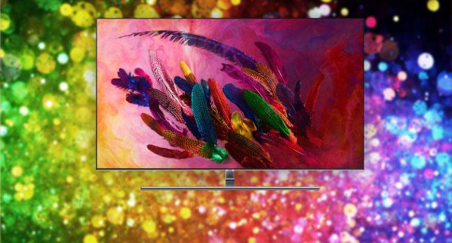 用实力定义QLED 三星Q7F光质量子点电视评测